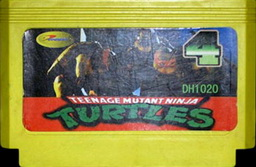 DH1020, Teenage Mutant Ninga Turtles 4, Dumped, Emulated