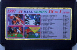 JY-010, 1997 Ball Series 18-in-1, Undumped