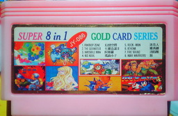 JY-086, Super 8-in-1 Gold Card Series, Undumped