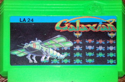 LA24, Galaxian, Dumped, Emulated