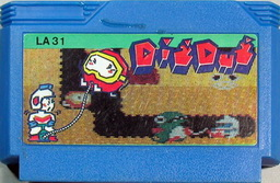 LA31, Dig Dug, Dumped, Emulated