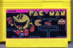 LA34, Pac-Man, Dumped, Emulated
