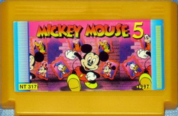 NT-317, Mickey Mouse 5, Dumped, Emulated