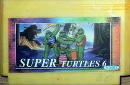 NT-6033, Super Turtles 6, Dumped, Emulated