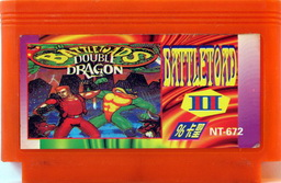 NT-672, Battletoads II, Dumped, Emulated