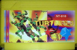 NT-818, Turtles 3, Dumped, Emulated