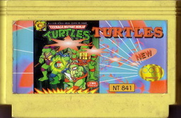NT-841, Teenage Mutant Ninja Turtles, Dumped, Emulated