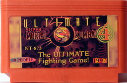 NT-873, Ultimate Mortal Kombat 4, Dumped, Emulated
