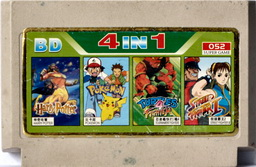4-in-1 HARRY, POKEMON, TMNTTF, SF12P