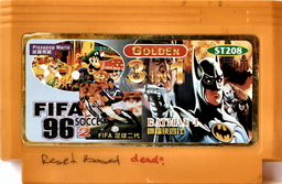 3-in-1 Golden FIFA96, PIZZAMAR, BATMAN4