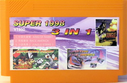 3-in-1 Super 1998 KINGRABB, RACEAMER, JUNGLESTR
