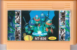 NT-826, Turtles 2, Dumped, Emulated