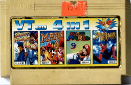 4-in-1 SF16P, MARIO6, MARIO9, SPIDERMAN