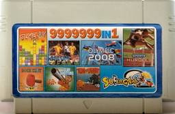 9999999-in-1 SMB, BASEBALL, OLYMPIC, DHUNT, JEWEL, CIRCUS, CLAYSHT